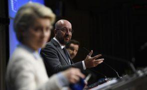 UE/Cimeira: Líderes europeus condenam