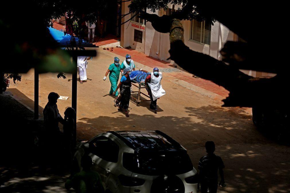 Covid-19: Índia com menos de 200 mil casos, valor mais baixo em 41 dias