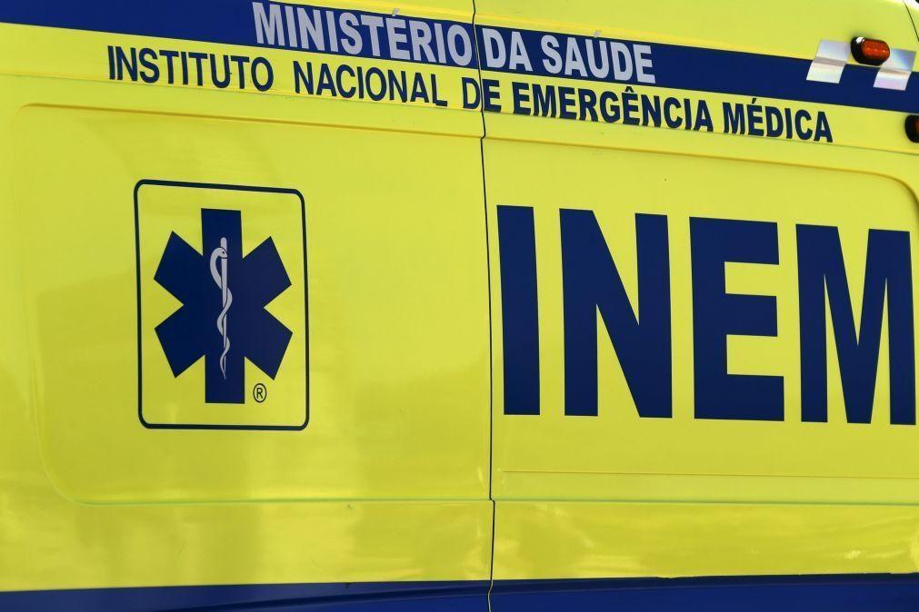 Um morto e 11 feridos em incêndio urbano em Gondomar
