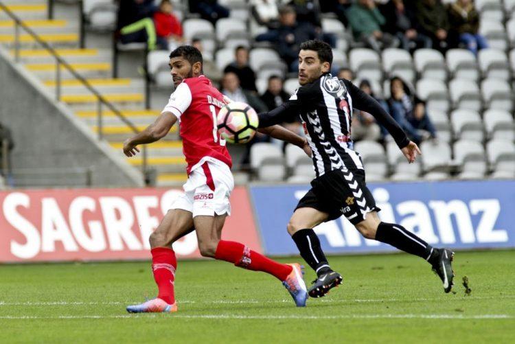 Nacional e Sporting de Braga empatam na estreia de Jokanovic no comando dos madeirenses
