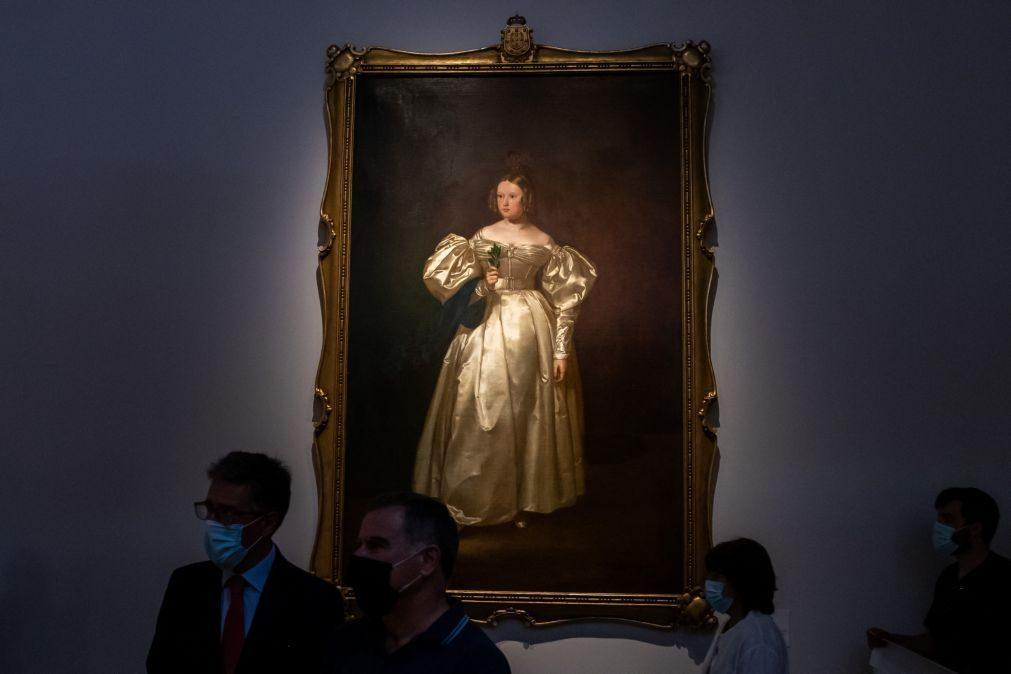 Exposição sobre rainha Maria II no Palácio da Ajuda abre ao público quarta-feira