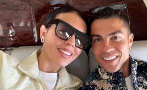 Cristiano Ronaldo e Georgina Rodríguez apanhados em Lisboa [fotos e vídeo]
