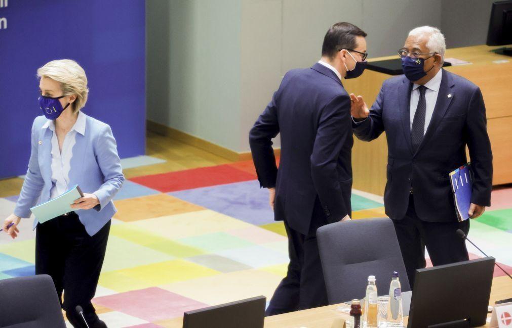 UE/Cimeira: Costa descarta que Polónia tenha bloqueado conclusões sobre o clima