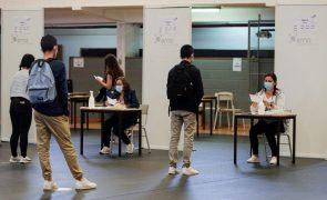 Covid-19: Reitores relatam fraca adesão à testagem, alunos do secundário dizem