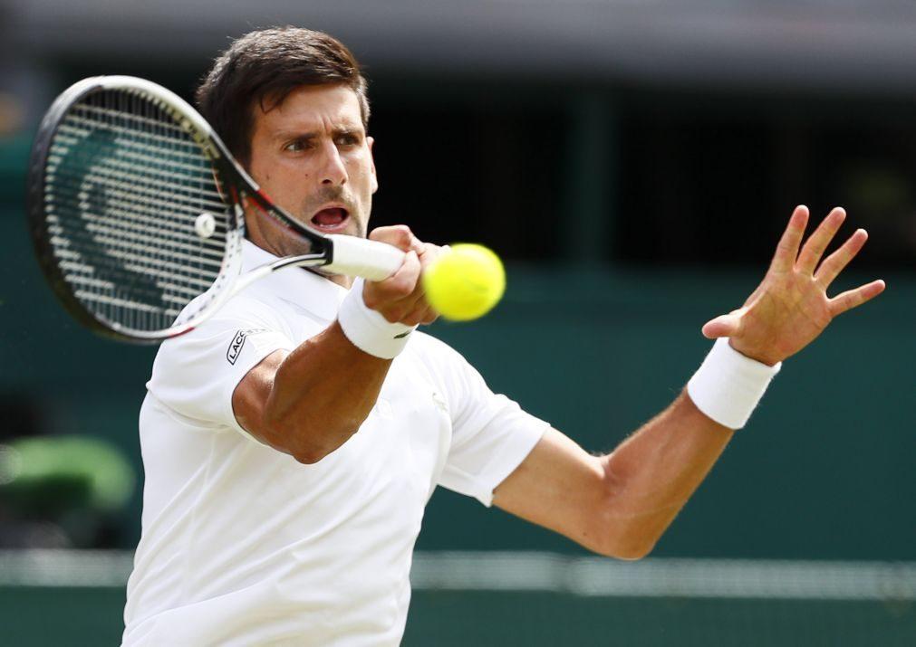 Djokovic e Raonic apuram-se para a segunda ronda de Wimbledon