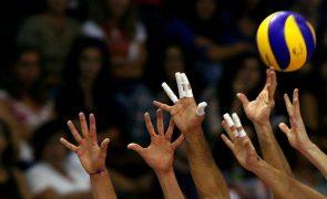 Bielorrússia: Jogo de Portugal na Golden League de voleibol adiado para segunda-feira