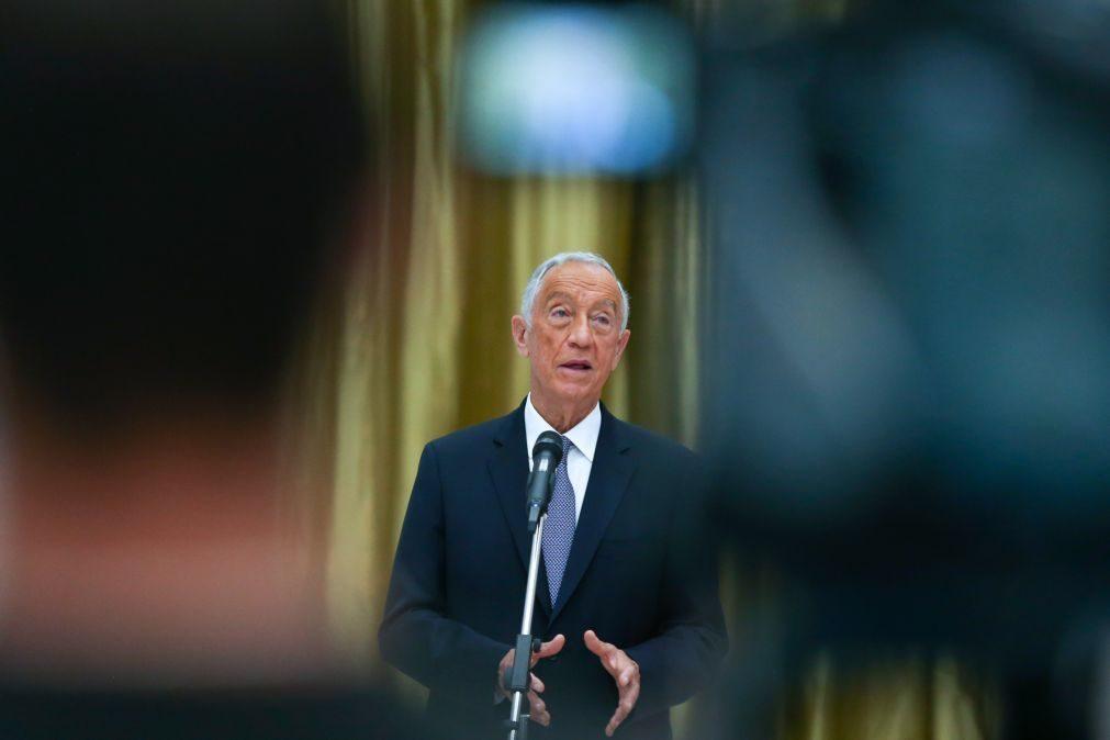 Covid-19: Marcelo defende mudança da matriz de risco face à crescente taxa de imunidade