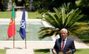Costa confiante na capacidade da NATO para responder às ameaças externas à segurança