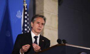 Médio Oriente: Blinken reúne-se com Presidente egípcio e reforça planos de paz