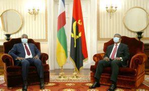 Chefes de Estado angolano e da RCA abordam relações bilaterais e situação política