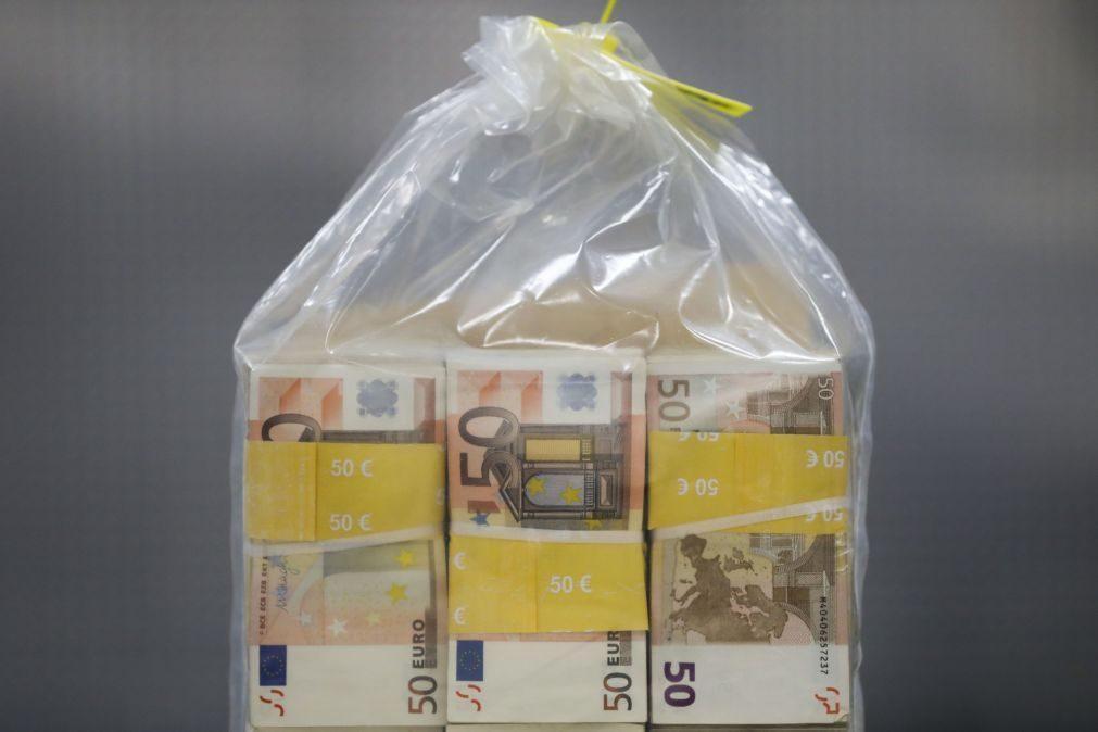 OE2021: Estado arrecada menos 1.315,2 milhões de euros em impostos até abril