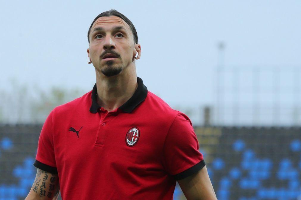 UEFA multa Ibrahimovic em 50 mil euros por ligação a casa de apostas