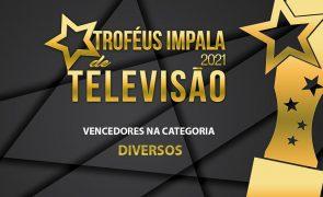 Troféus Impala de Televisão 2021: Vencedores na categoria Diversos