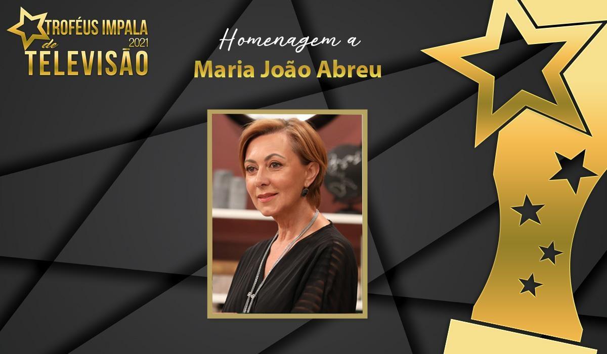 Troféus Impala de Televisão 2021: Maria João Abreu homenageada em momento emotivo da Gala