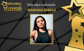 Troféus Impala de Televisão 2021: Mariana Rebelo protagoniza atuação única
