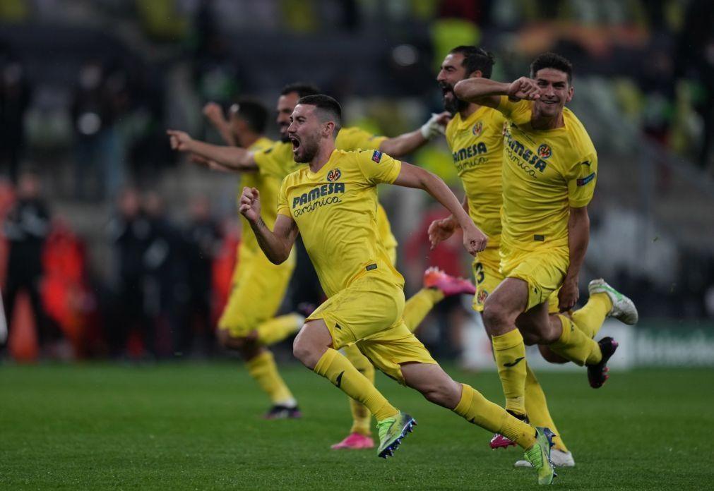 Villarreal vence Manchester United e conquista Liga Europa