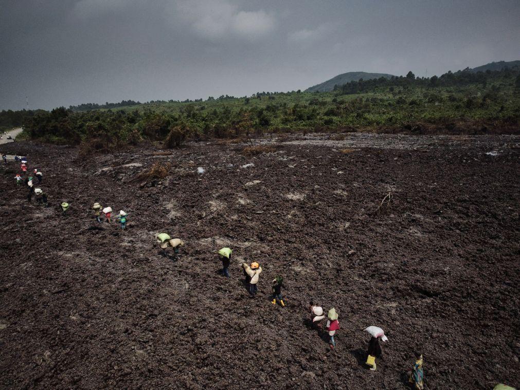 Gases perigosos e atividade contínua do vulcão levam à evacuação de cidade da RDCongo