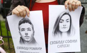Bielorrússia: MNE do G7 condenam
