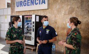 Covid-19: Equipa médica portuguesa deixa Cabo Verde com elogios à organização encontrada