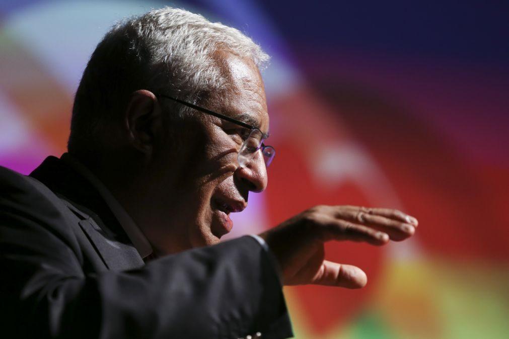 PS/Congresso: Costa privilegia diálogo à esquerda e exclui direita complacente com agenda xenófoba