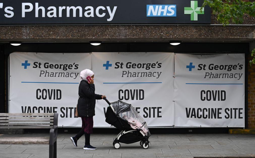 Covid-19: Reino Unido regista 10 mortes e