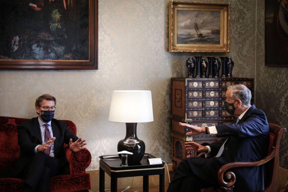 Junta Autónoma da Galiza enaltece apoio de Portugal ao Eixo Atlântico ferroviário