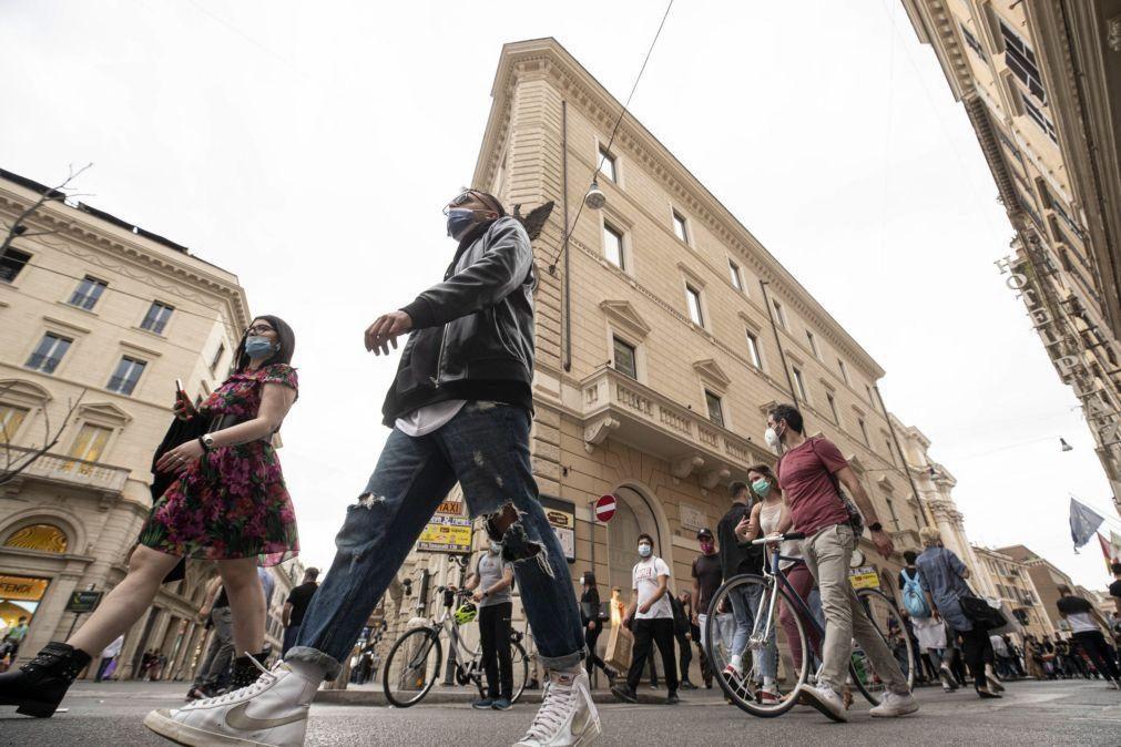 Covid-19: Itália soma 4.147 novos casos e 171 óbitos nas últimas 24 horas