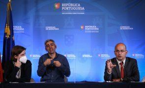 Covid-19: Governo pede mais cuidado aos portugueses com matriz a aproximar-se do amarelo