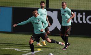 Euro2020: Portugal arrancou preparação sem 'ingleses' e Gonçalo Guedes