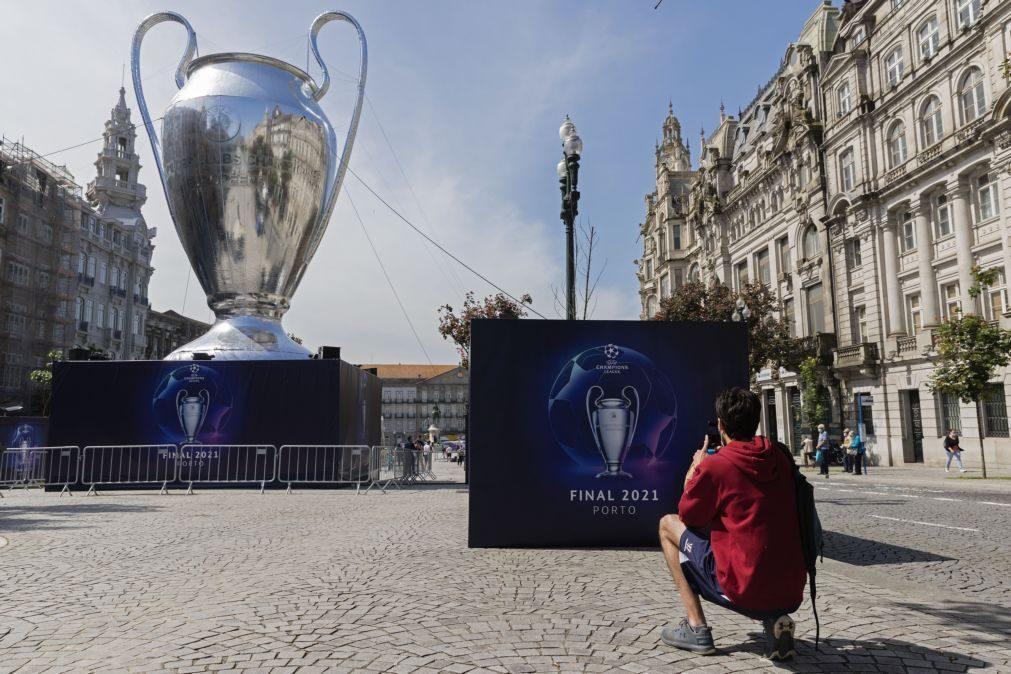 Ministra reitera que não há alterações ao acordo sobre adeptos na final da Liga dos Campeões