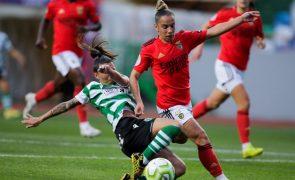 Benfica anuncia renovação até 2024 com a futebolista Lúcia Alves