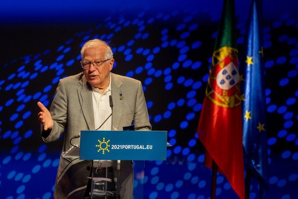 Médio Oriente: Borrell adverte que paz depende de solução política e não de cessar-fogos