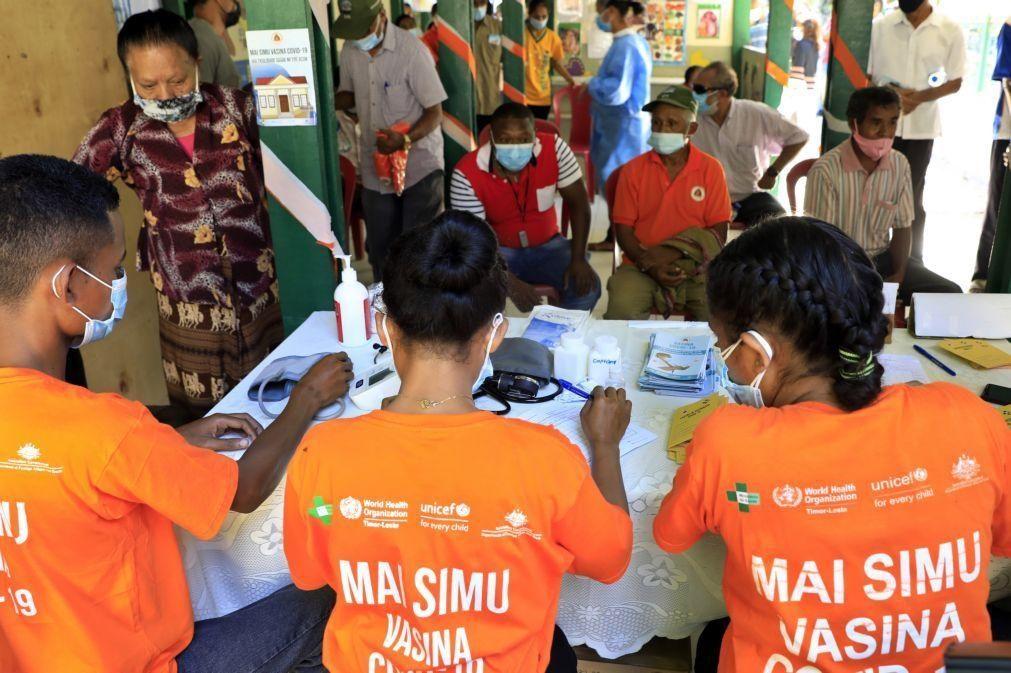 Covid-19: Mais de 17% da população de Díli já tomou a primeira dose da vacina
