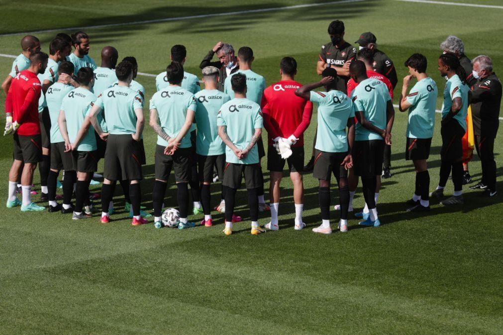 Euro2020: Portugal volta a treinar ainda sem cinco convocados