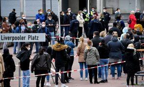Covid-19: Incidência acumulada na Alemanha baixou para 40 casos