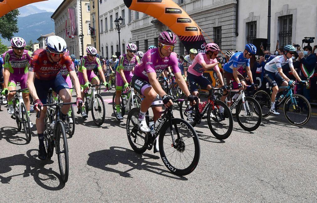 Giro: Prémios da 19.ª etapa entregues às vítimas do acidente de teleférico