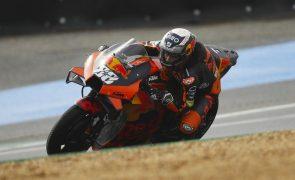 Miguel Oliveira em sexto lugar nos treinos livres do GP de Itália de MotoGP