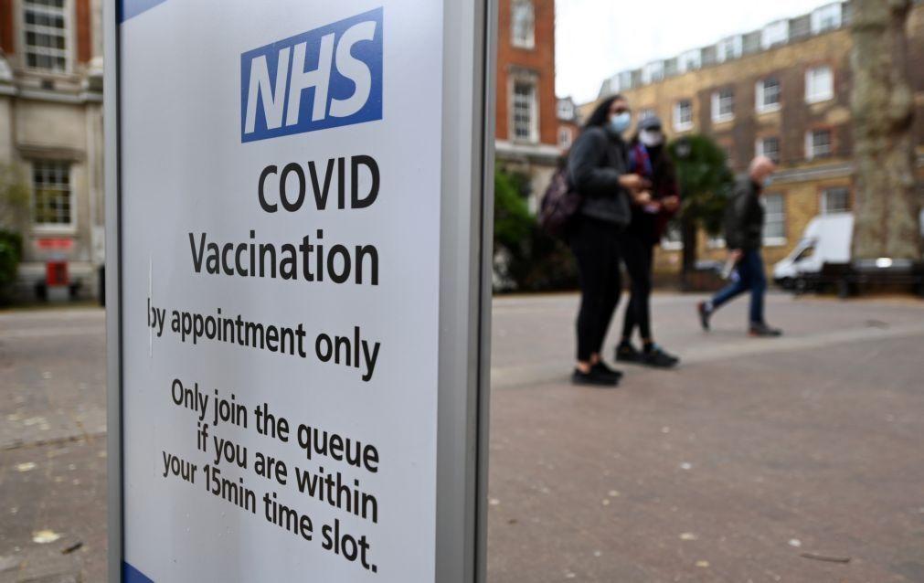 Covid-19: Índice de transmissão está a aumentar no Reino Unido
