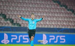 Euro sub-21: Francês François Letexier arbitra jogo entre Portugal e Itália