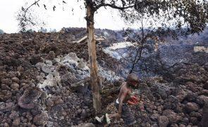 Cerca de 1.800 crianças refugiam-se no Ruanda após erupção do vulcão Nyiragongo