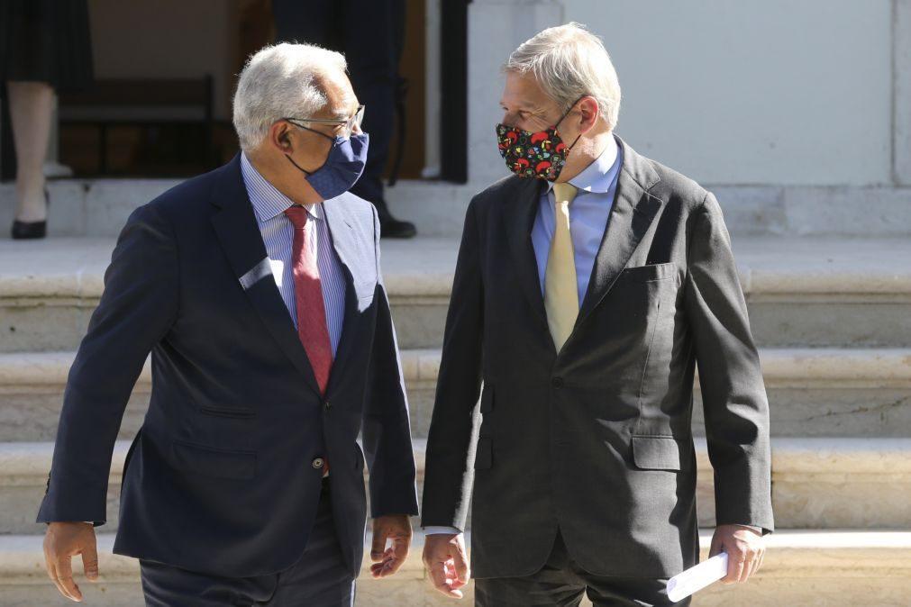 UE/Presidência: Costa felicita Comissão Europeia e diz que agora é tempo de executar os PRR