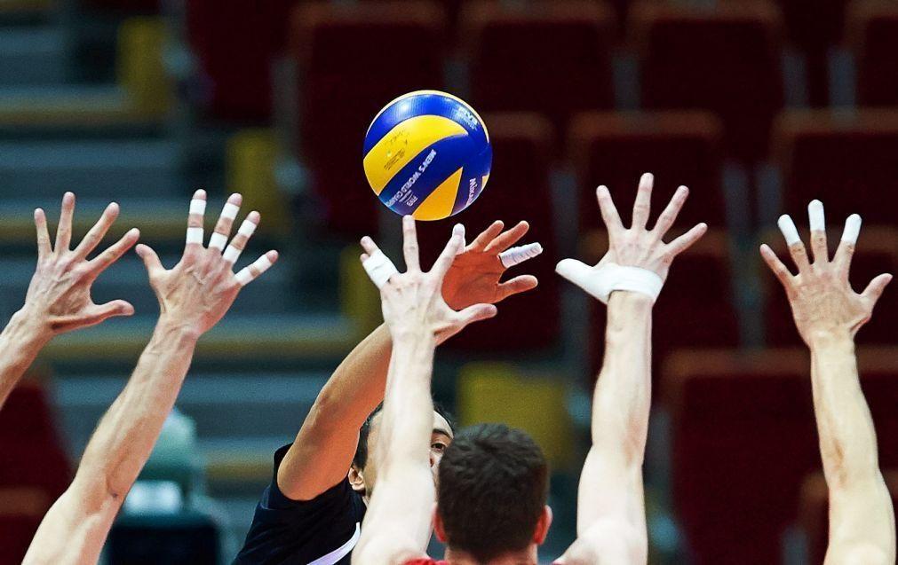 Portugal derrotado pela Turquia na European Golden League de voleibol