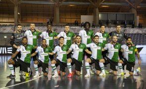Sporting vence Leões de Porto Salvo e está na final do campeonato de futsal