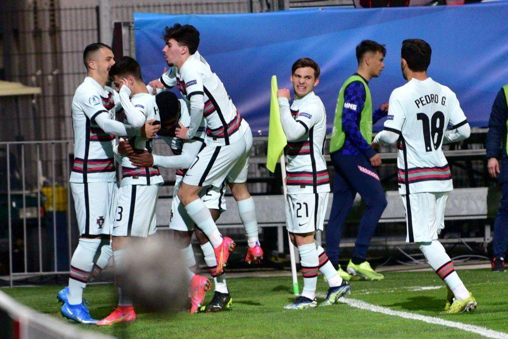Euro sub-21: Portugal treina sem limitações no regresso aos treinos na Eslovénia