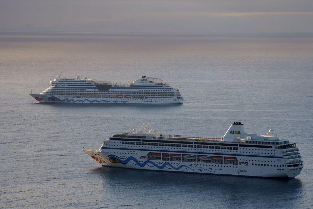 Covid-19: Navios de cruzeiro voltam a atracar em Espanha a partir de 07 de junho