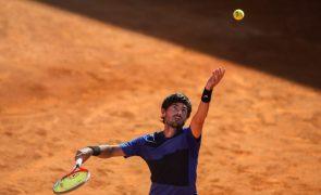 Borges desiste e Elias apura-se para a final do 'challenger' de Oeiras em ténis