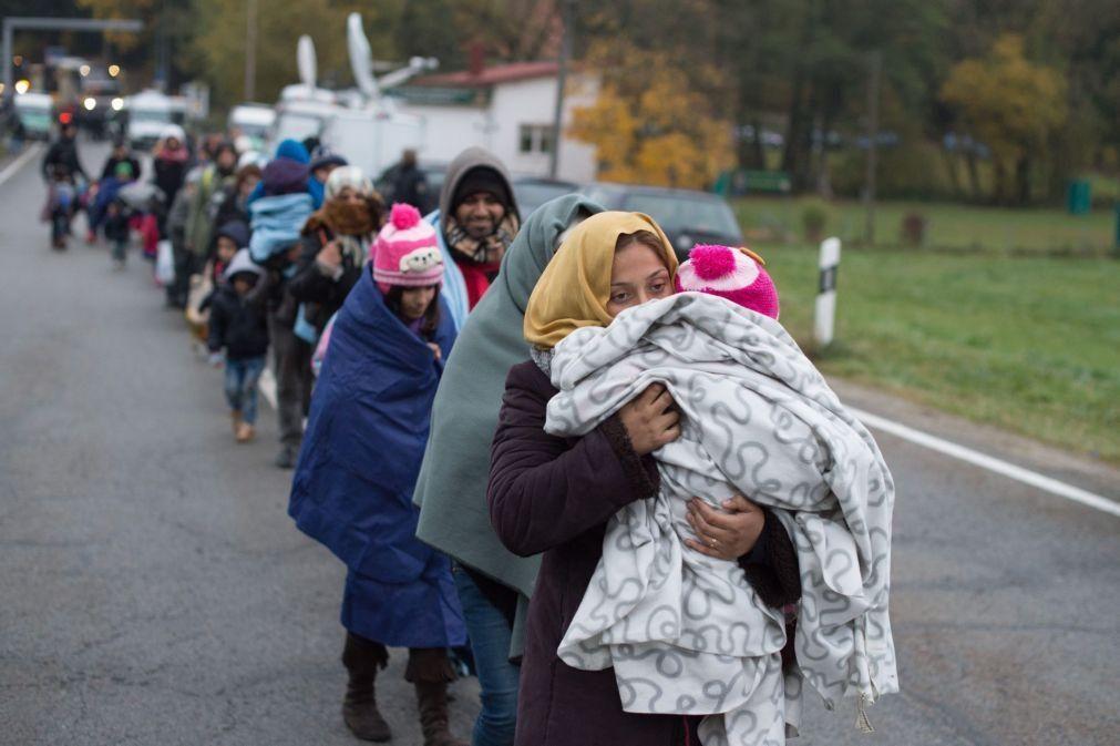 Política de refugiados adotada por Merkel