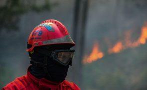 Doze concelhos de seis distritos do país em risco muito elevado de incêndio