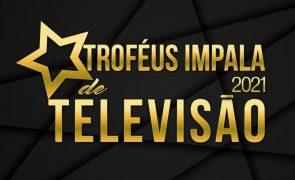 Troféus Impala de Televisão 2021. Vencedores já têm galardão nas mãos e cantam vitória