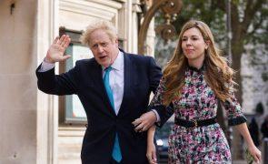 Boris Johnson casou-se com Carrie Symonds